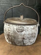 VINTAGE E PUGH & CO WEDNESBURY GYPSY PAN COOKING POT