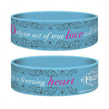 Frozen Rubber Wristband Only And Act Of True Love Pyramid International