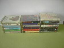 Audio Cassette Tapes Talking Books - Ruth Rendell, Morse, Agatha Christie