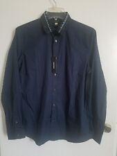 Diesel mens S-Ozzy Shirt Blue Collar long sleeve shirt!!!