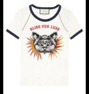 Cat patch  Blind For Love Tshirt