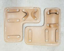 Tree Climbing Spike/ Spur Pair Leather Pads Replacement New
