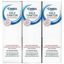 3x 100ml OMBIA med SOLE TINKTUR 30% Natursole Dexpanthenol Neurodermitis