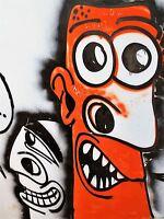 ART PRINT POSTER PAINTING DRAWING COOL GRAFFITI STREET FIGURES LFMP1010