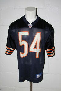EUC Reebok Chicago Bears Brian Urlacher NFL Football Jersey Sz M Medium NICE WOW