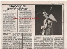 The CURE Aberdeen 1979 concert review UK ARTICLE / clipping