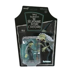 Witch The Nightmare Before Christmas Super 7 ReAction Action Figure New