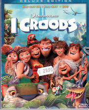 I Croods Blu-Ray Deluxe Edition (3D+ Dvd + Blu-Ray) Sigillato