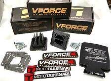 Yamaha Banshee NEW V Force 4 Reeds Reed valves YFZ350 RZ350 VFORCE4 FREE KOOZIE
