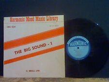 HARMONIC MOOD MUSIC LIBRARY The Big Sound 1   LP  Brull Ltd  Jazz  EX!