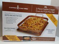 Copper Chef Pro Xl 2 Pc. Copper Crisper Oven Air Fryer