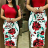 Elegant Sexy Women's Business Office Skirts Casual Bodycon Sheath Pencil Dresses