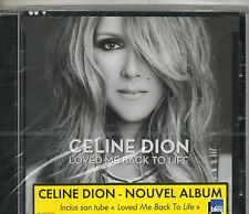 Celine Dion - Loved Me Back to Life CD Columbia