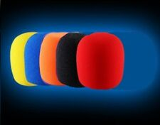 5 X  High Quality Microphone Windscreen Foam Mic Cover Extra Thick 15mm