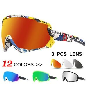 Men's Cycling Glasses Polarized Sports MTB Road Bicycle Mountain Bike Sunglasses