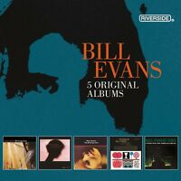 BILL EVANS-5 ORIGINAL ALBUMS (2016) 5 CD (BOX-SET) NEU EXPLORATIONS/MOON BEAMS