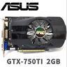 ASUS NVIDIA GeForce GTX750TI 2GB DDR5 DVI/VGA/HDMI PCI-Express Video Card Used
