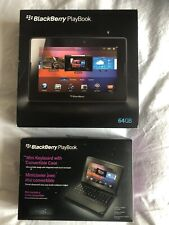 More details for blackberry playbook 64gb boxed with charger, keyboard and case