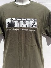 JARS OF CLAY Christian rock band WHO WE ARE INSTEAD 2003 concert t shirt sz L