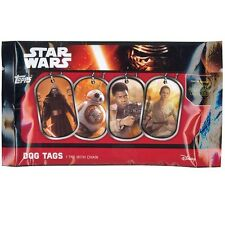 NEW Topps Disney Star Wars The Force Awakens Dog Tags 1 Tag with Chain