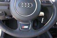 Audi A1 A3 A4 A5 A6 A7 Q3 Q5 S-Line steering wheel badge sticker logo s line RS