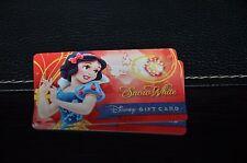 NEW 2016 Disney Gift Card A Royal Debut Snow White Design Celebrates Princesses