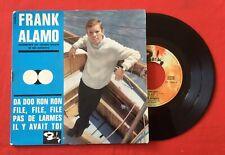 FRANK ALAMO DA DOO RON FILE PAS DE LARMES Il Y AVAIT TOI 70549 VG VINYLE 45T EP