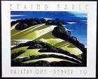 "Eyvind Earle""Hidden Hills"" offset lithograph poster Unsigned Unframed Make Offer"