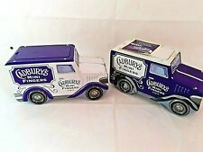 Cadbury's Mini Fingers Delivery Van Shaped Tin X 2