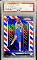 Luka Doncic 2018-19 Panini Prizm Red White & Blue Rookie RC Mint PSA 9