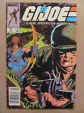 GI Joe A Real American Hero #45 Marvel Canadian Newsstand $0.95 Price Variant