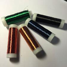 Kupferlackdraht 0,15mm 100m Rolle Farbe: rot/kupfer/blau/grün/schwarz nach Wahl