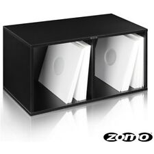 ZOMO VS-BOX 200 (black) box contenitore x contenere ospitare 240 vinili lp mix