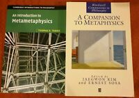 An Introduction to and Companion to Metaphysics Tahko Cambridge Blackwell