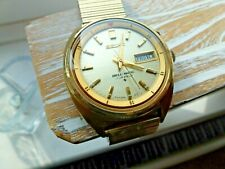 VINTAGE GOLD SEIKO BELLMATIC 4006-6011 JUNE 1974 FULL WORKING ORDER