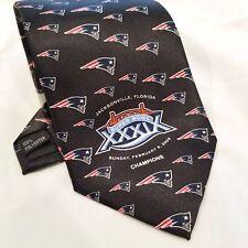New England Patriots NFL Super Bowl XXXIX Champions Necktie Tie Feb 6 2005
