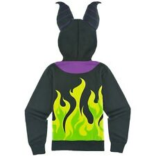 NWT Disney Maleficent Hoodie Horns Size X Large Villain Sleeping Beauty Cosplay