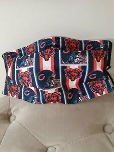 Chicago Bears Face Mask.