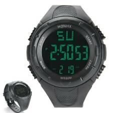 Herren Sportuhr Armbanduhr Wasserdicht Digital LED Uhren Mens Watch Wasserdicht