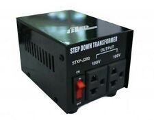 200W 240V to 100V Step Down Transformer Japanese to Australian Voltage Converter