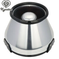 "6""  Aluminum Heat Shield Cold Air Short Ram Intake Cotton Cone Filter Universal"