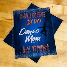 Nurse by Day Dance Mom by Night Cover Set for use with Erin Condren Planner