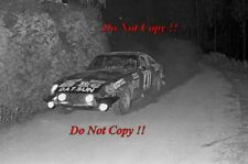 JOSE Megre Datsun 260Z Portugal Rally 1975 Photographie 1
