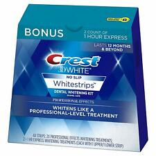 3D White Professional Effects Whitestrips Whitening Strips Kit, 22 Treatments
