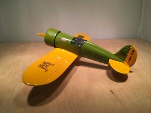 US MAIL 1929 TRAVEL AIR MODEL R AIRPLANE BANK - DIECAST By SPEC CAST #101
