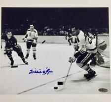 WILLIE O'REE Autograph BOSTON BRUINS Signed 8x10 Photo #1 w/ OC COA + Hologram