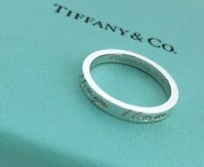 76ec45a70 Tiffany & Co. Sterling 925 Silver I Love You Notes Size 6 Stacking Ring