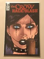 THE CROW HACK SLASH #1 IDW publishing tim seeley 2019 bad girl spicy goth indie