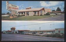 Postcard MARYVILLE TN  Travelers Tourist Motel Motor Court Dual-view 1950's