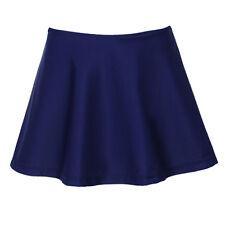 Women Swim Skirt Mix Skirted Bikini Ruffled Brief Bottoms Short Skirt XL Size